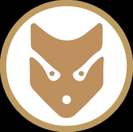 Hand made fur logo